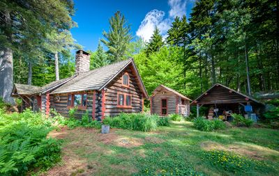 Photo for Authentic Adirondack Experience Lakeside Log Cabins