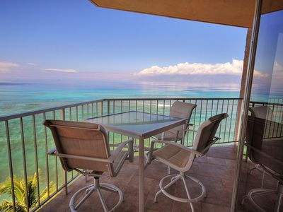 Photo for Sunshine + Rainbows = Royal Kahana 911 with Panoramic Ocean Front Views
