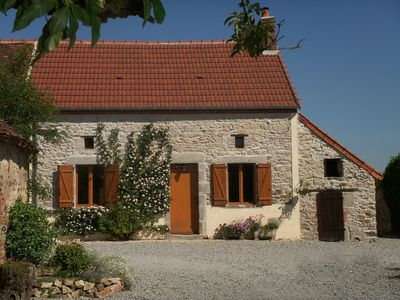 Photo for Farmhouse in rural hamlet. Very quiet surroundings with private rear garden.