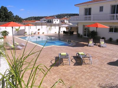 Photo for Villa With Amazing 10 M X 5 M Infinity Pool, Free Wifi, In A Quiet Village.