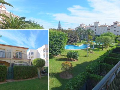 Lovely townhouse with views across the stunning La Isla garden and pool