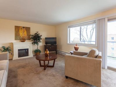 Photo for Ocean View, new carpet & paint, no stairs, best area, Jacuzzi bathtub