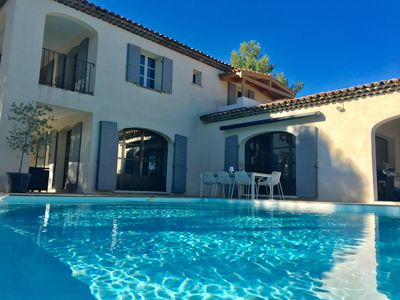 Photo for Luxurious contemporary Provencal house on the Pont Royal golf course