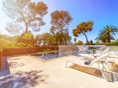 """Photo for """"VILLA CATLEYA"""" Furnished apartment N ° 1, 3 ROOMS, POOL, JACUZZI, FITNESS ROOM"""