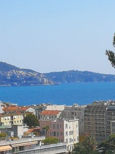 Photo for Top floor very nice large sea view 3 rooms