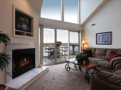 Photo for 2 Master Suites & 7 Beds - Sits Main Channel & Sand Beach