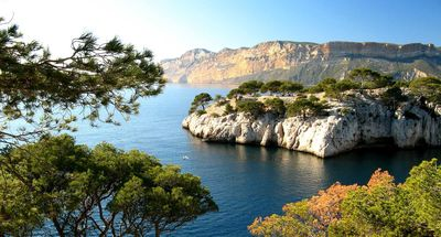 Photo for Cassis, luxury beachfront apartment, stunning sea view and Cap rabble.