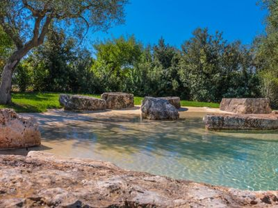 Photo for TRULLI DI MONTALTINO Trulli with scenic pool and lovely garden