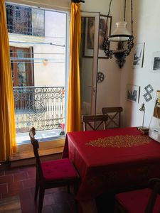 Photo for Cozy house from the 16th Century with a sunny loggia over the roofs of the city
