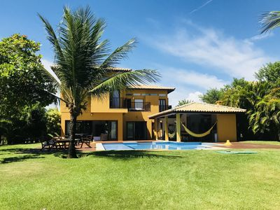 Photo for luxury house with pool, private beach, lots of nature and leisure
