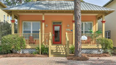 Photo for Happy Mermaid-1 Story Cottage on 30A-Fabulous Reviews-Short Walk to Beach