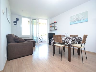 Photo for Beach apartment , 2 bedrooms , 1 bathroom, 2 minutes from the beach.