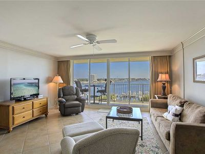 Photo for Waterview Towers 605 - Gulf Front, Gulf View, Community Pool, Exercise Room!