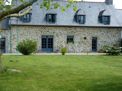 Photo for Magnificent farmhouse with garden, 100m from the sea