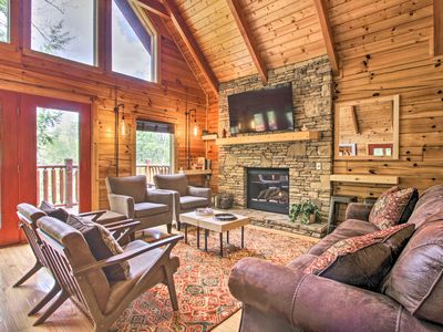 Photo for Pigeon Forge Resort Cabin w/Hot Tub & Pool Access!