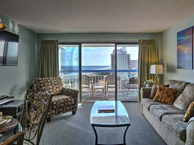 Photo for Beachfront Condo in Cabana Section of Myrtle Beach