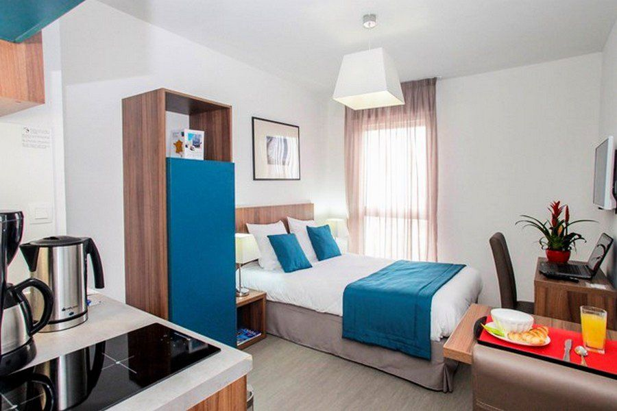 Appart 39 h tel st jean chambre double loiret 1463219 for Apparthotel 22
