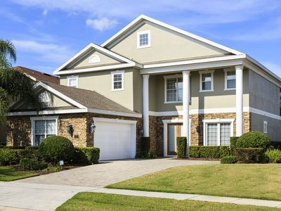 Photo for OG489D-5/5.5, Pool, BBQ Grill, Gamne Room, FREE Waterpark, Golf View Near Disney