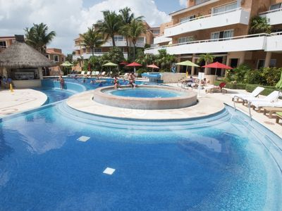 Photo for Lowest price for Beachfront in Playacar!