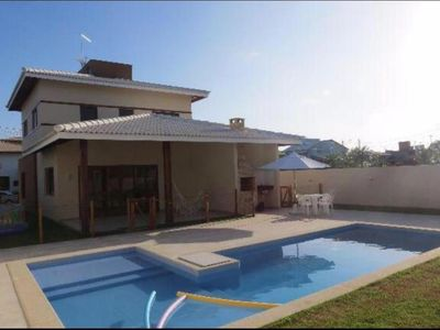 Photo for House season in Guarajuba, 4 bedrooms
