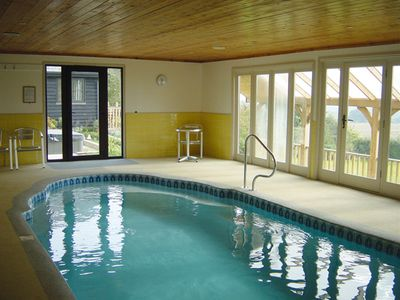 Photo for A luxurious self-catering retreat for two, complete with indoor pool & hot tub.