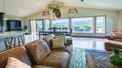 Photo for 5 Bedroom House, Incredible Mt. Sopris Views - Aspen Valley