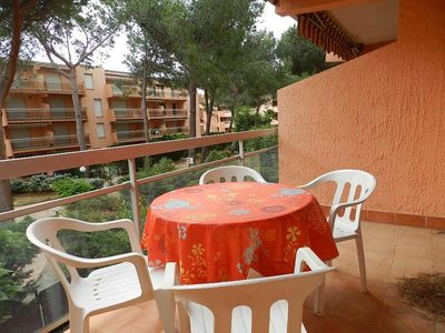 Photo for THE FAVIERE - Spacious 2 rooms 200m from the beach. RESIDENCE ARBOREE.