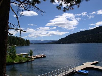 Photo for 5 STAR DONNER LAKEFRONT CONDO / MARINA ONSITE / POOLS, HOT TUBS, GYM OFFSITE
