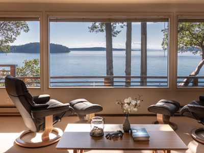 Photo for NEW - Westside Orcas Waterfront with Pocket Beach. Sunset Cove Orcas Island