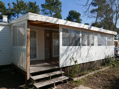 Photo for Immobilhome on Camping 4 * Atlantic Park A014