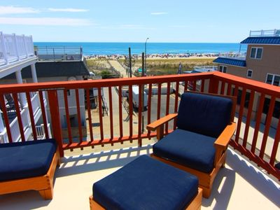 Photo for 4 Br, 2 Ba Penthouse Condo with Ocean View- Beach Block- Heart of Sea Isle City