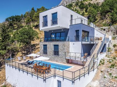 Photo for Modern villa close to Omis with Sauna