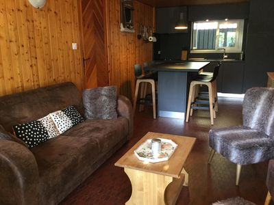 Photo for In chalet, warm T4 of character, terrace panoramic view