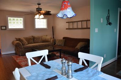 Open Dining & Family Room