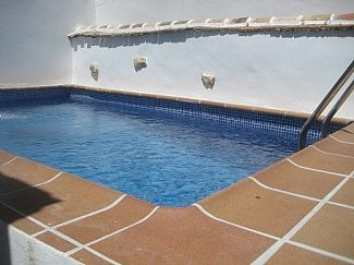The pool at Casa del Horno