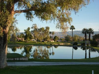 Photo for Beautiful Retreat On 9th Tee/water, Mountain, Clubhouse Views/lrg patio extenson
