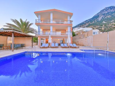 Photo for Spacious 6 Bedroom Villa with Totally Private Pool and Stunning Sea Views