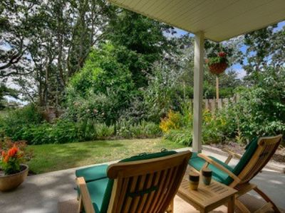 Photo for Relaxing Garden Oasis near downtown Victoria