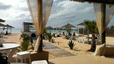 Boa Vista Social Club beach bar/restaurant