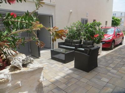 Photo for Holiday apartment with terrace and barbecue facilities