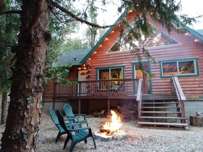 Photo for Timber & Creek- secluded cabin near Yosemite