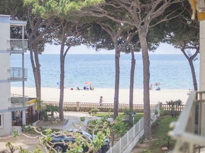 Photo for TH86 Beachfront Apartment in Vilafortuny