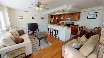 Photo for Captains Watch - Unit 6 - One Block from the Beach - Swimming Pool - FREE Wi-Fi