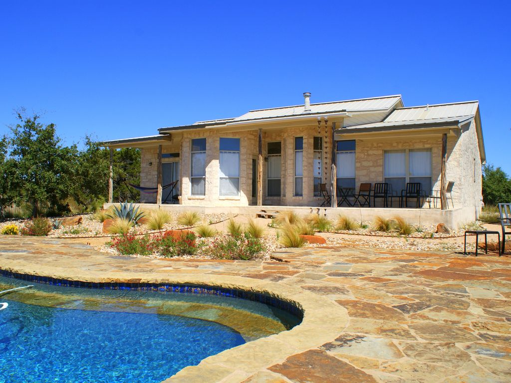Soak in only the BEST Hill Country views form your own private pool!