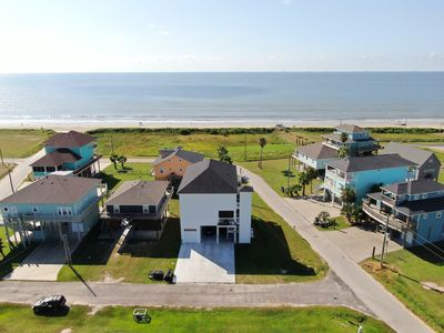 Photo for NEW 5 bedroom 3 bath Beach House with Mezzanine Deck & Unobstructed Ocean Views