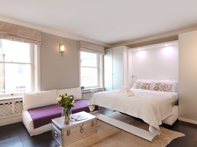 Photo for Bright, modern Belgravia, Knightsbridge One Bedroom Apartment with Free WiFi