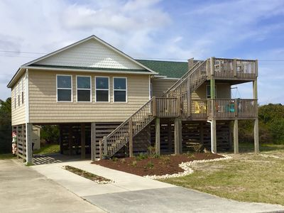 Photo for Ocean Views! Only 350 feet to the beach! FREE bed linens, bikes & more!