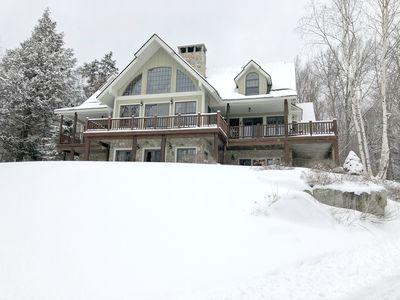 Photo for BEAUTIFUL! home in High Meadow, Spectacular views of Stratton, on Shuttle