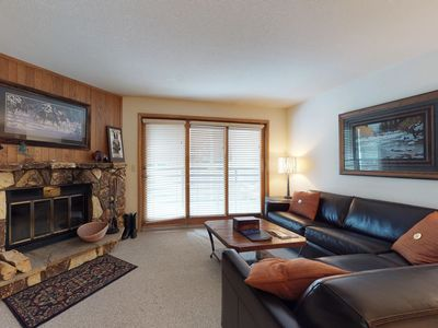 Photo for NEW LISTING! Inviting condo with easy ski access, shared pool and hot tub