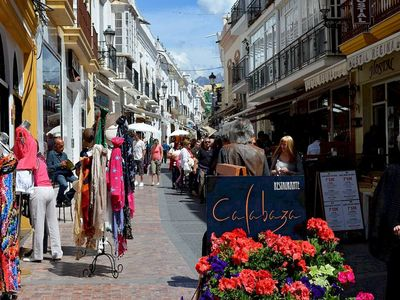 Photo for Comfortable apartment in the center of Nerja w/ WIFI - Old Town Canovas